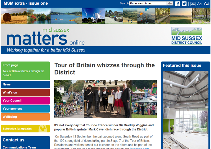 Mid Sussex matters - Mid Sussex residents' emagazine