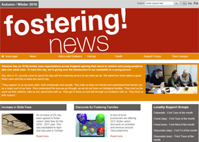 Gloucestershire fostering news