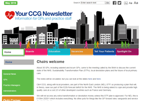 City and Hackney CCG 'Your CCG Newsletter'