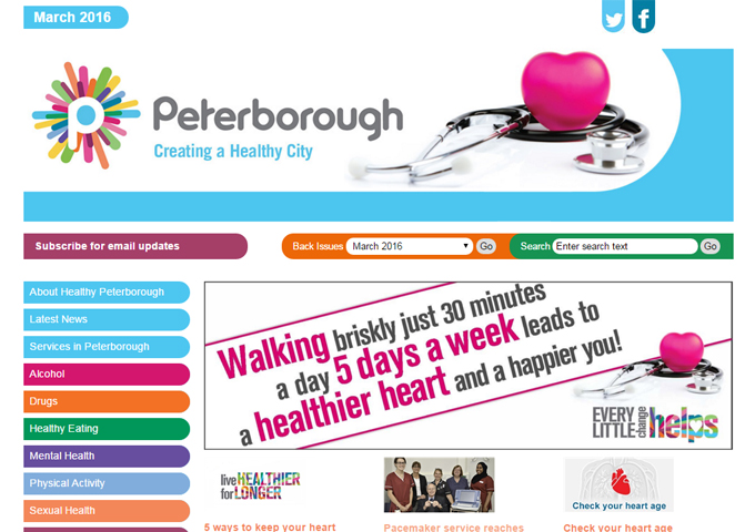 Healthy Peterborough - Creating a Healthy City