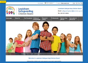 Lewisham County Council 'Safeguarding Children Board'