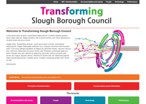 Transforming Slough Borough Council