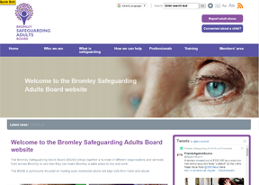 Bromley Safeguarding Adults Board website